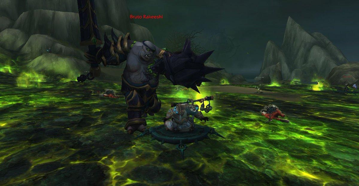 The floor is fel #Warcraft <br>http://pic.twitter.com/weaCoRHPX1