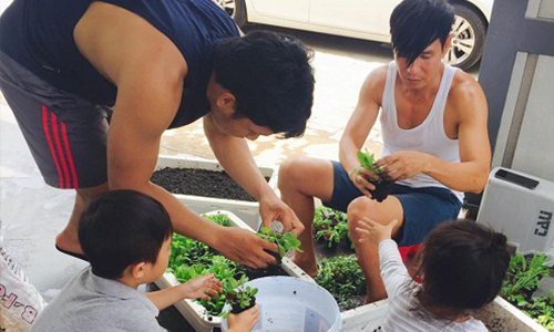 Dù bận rộn nhưng những gia đình sao Việt này vẫn thích làm vườn, trồng...