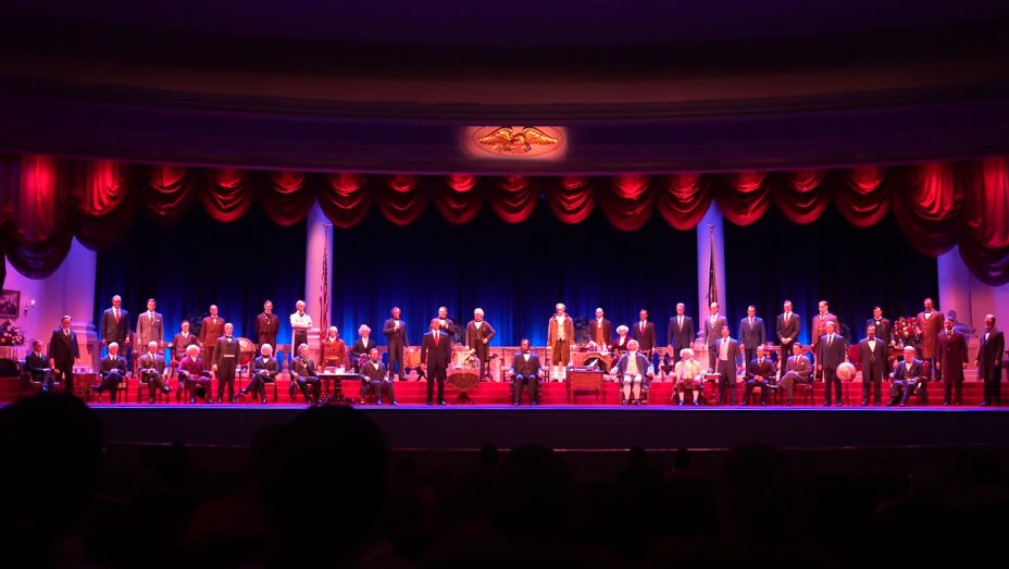 Disney denies reports of Trump-related turmoil at the 'Hall of Presidents' attraction https://t.co/kJArvr6ZQw