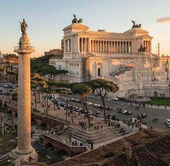 Rome via @isolearan1 #travel #Italy #beautyfromitaly