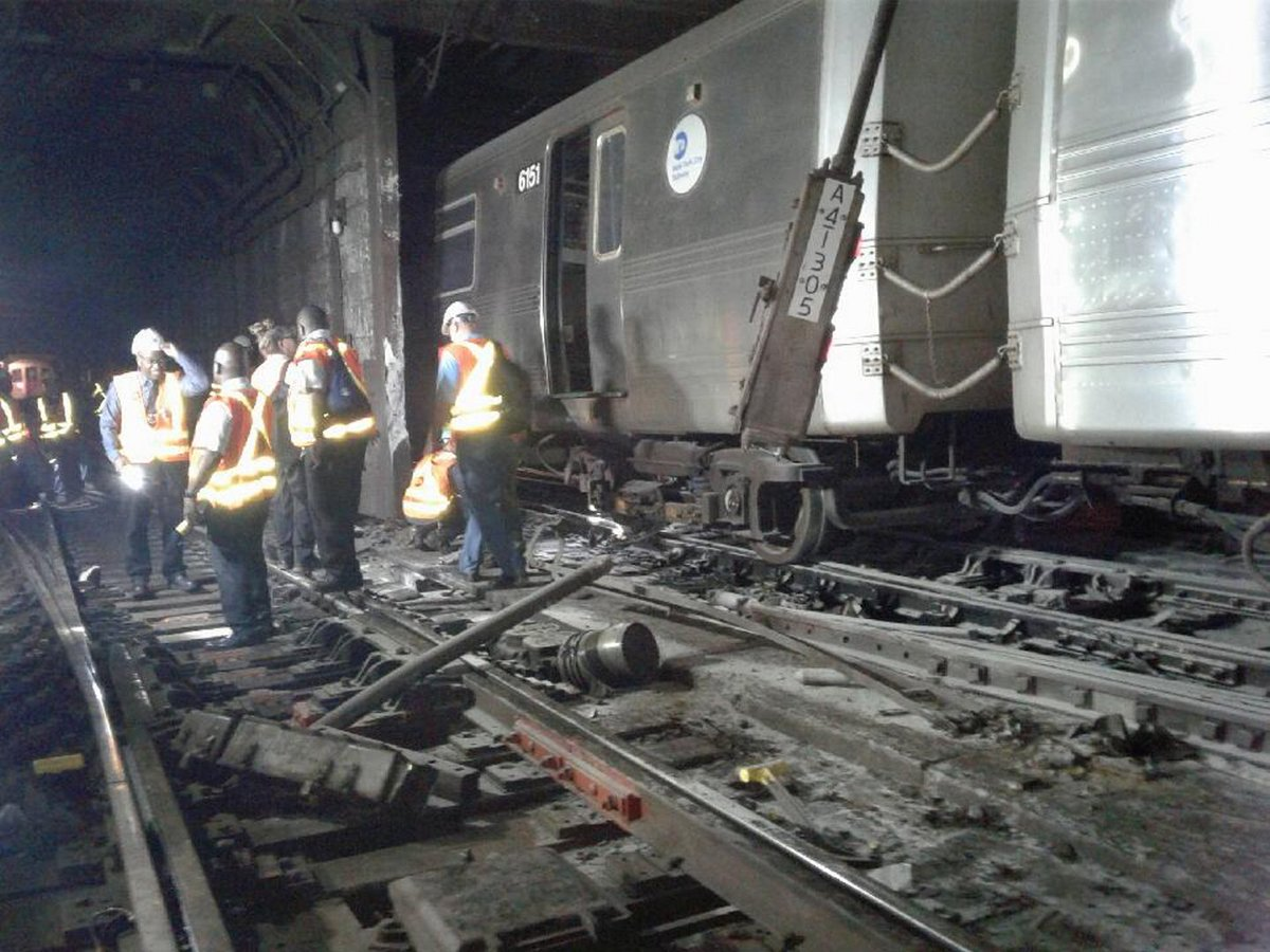 Human error, not faulty equipment, caused the A train derailment in Harlem Tuesday morning, MTA says https://t.co/3vzCYLY1Ud