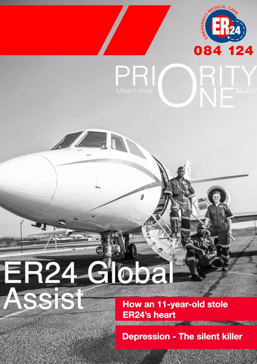 ER24&#39;s Priority One Magazine is now available for download - click here to view or to download  http:// er24.joburg/P1Q2-2017  &nbsp;   #magazine #er24<br>http://pic.twitter.com/oufGjZzGxs