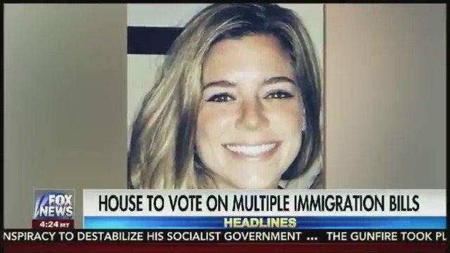 HAPPENING TODAY: House to vote on immigration bills including 'Kate's Law' and 'No Sanctuary for Criminals Act'