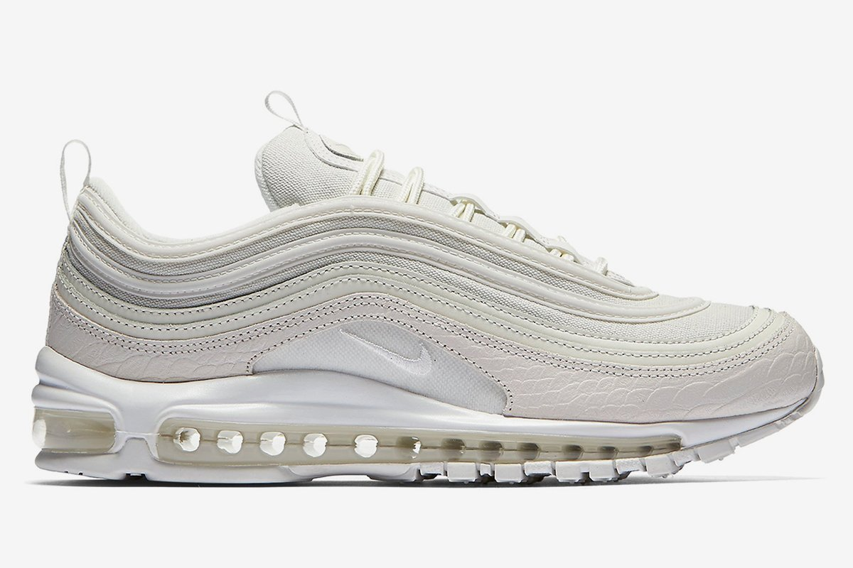 The @nike Air Max 97 'Summit White' releases tomorrow! Here's where to...