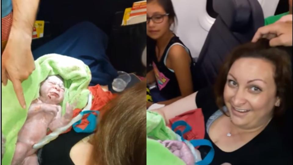 'He just popped out': Woman gives birth on flight, baby gets free tickets for life https://t.co/hKvuOUYEjZ