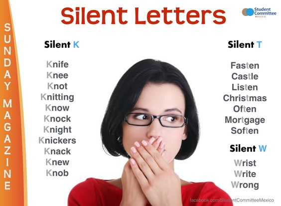 Silent letters. #english #ingles #FelizMiercoles #expressions #vocaulary<br>http://pic.twitter.com/fkVSkLrNrO