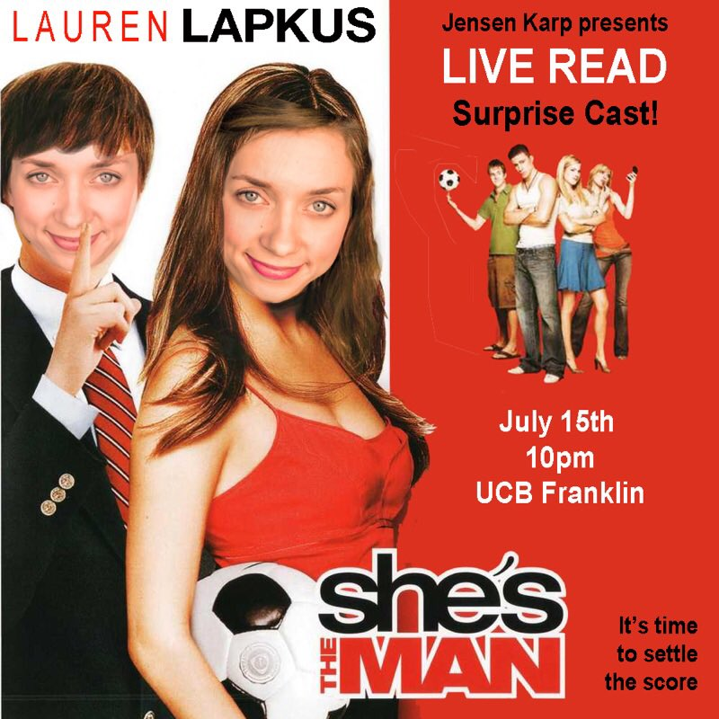 shes the man movie poster