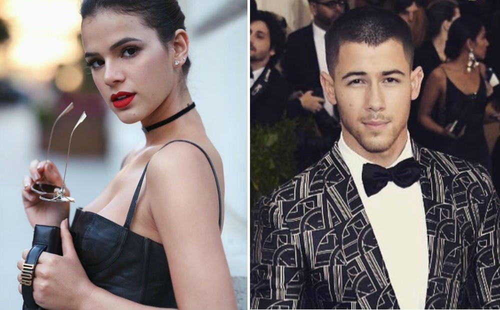 Oi, sumida? Nick Jonas e Bruna Marquezine trocam likes no Insta https://t.co/Bv0ZGYDozO
