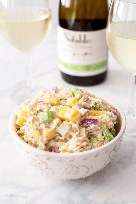 Tropical Themed Chicken Salad (Gluten-Free)