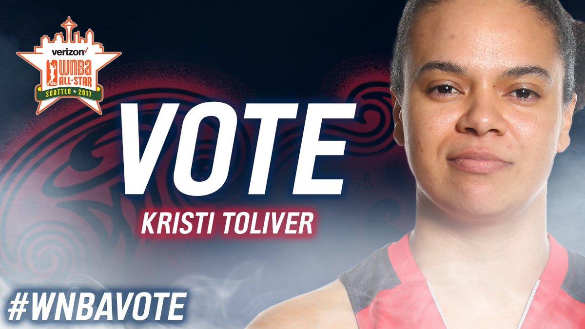 🚨🚨LAST CHANCE🚨🚨 RT  @KristiToliver #WNBAVote