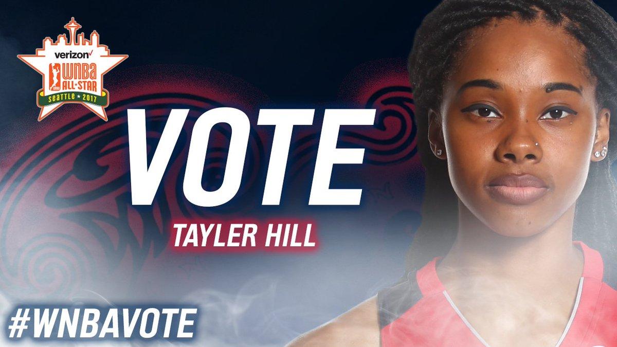 🚨🚨LAST CHANCE🚨🚨 RT  TAYLER HILL #WNBAVote
