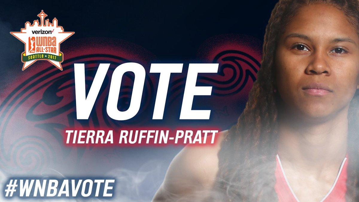 🚨🚨LAST CHANCE🚨🚨 RT  TIERRA RUFFIN-PRATT #WNBAVote