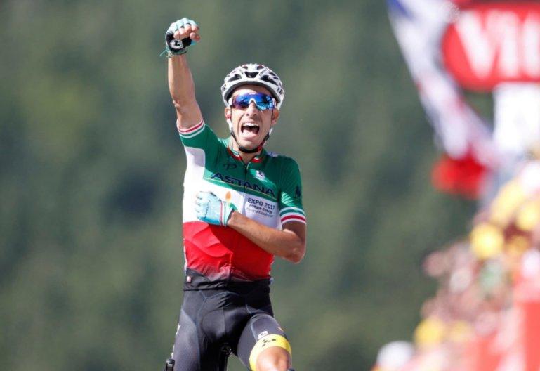 Fabio Aru vince la Tappa 5 del Tour de Force, primo arrivo in salita | Ciclismo