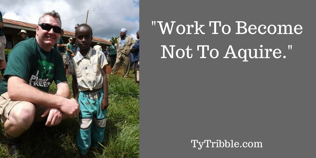 'Work to become not to acquire.' #mlm #l...