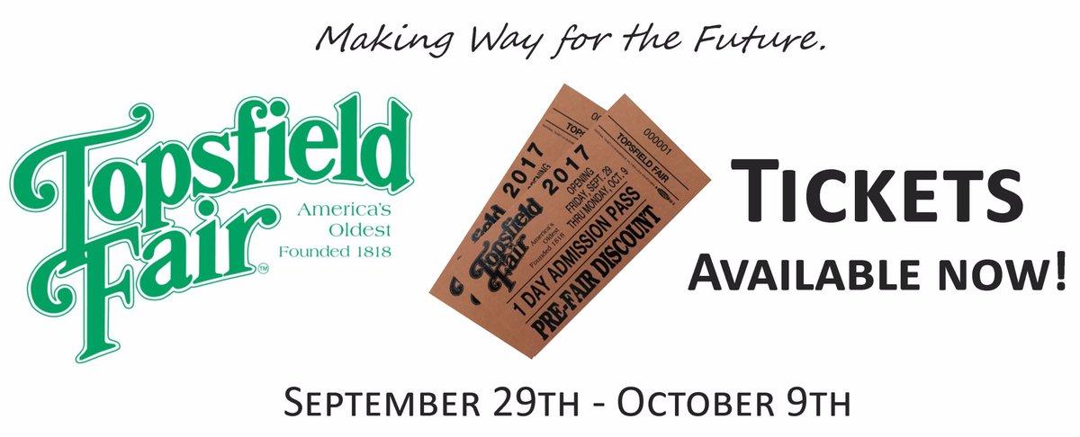 Topsfield Fair 2020.Topsfield Fair On Twitter Tickets Are Now Available For