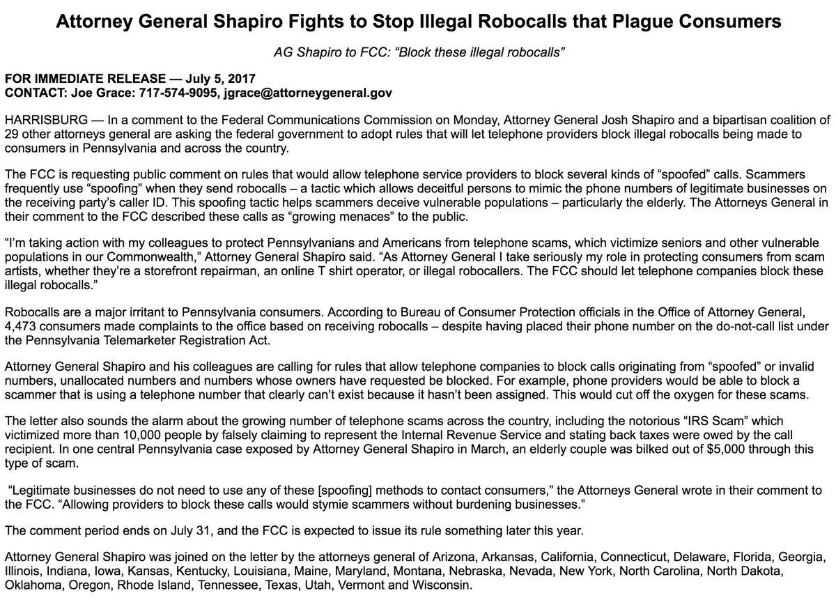 AG Josh Shapiro on Twitter: