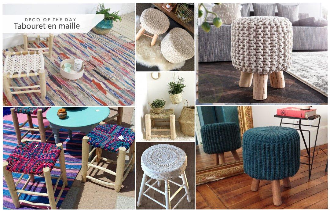 tabouret on. Black Bedroom Furniture Sets. Home Design Ideas