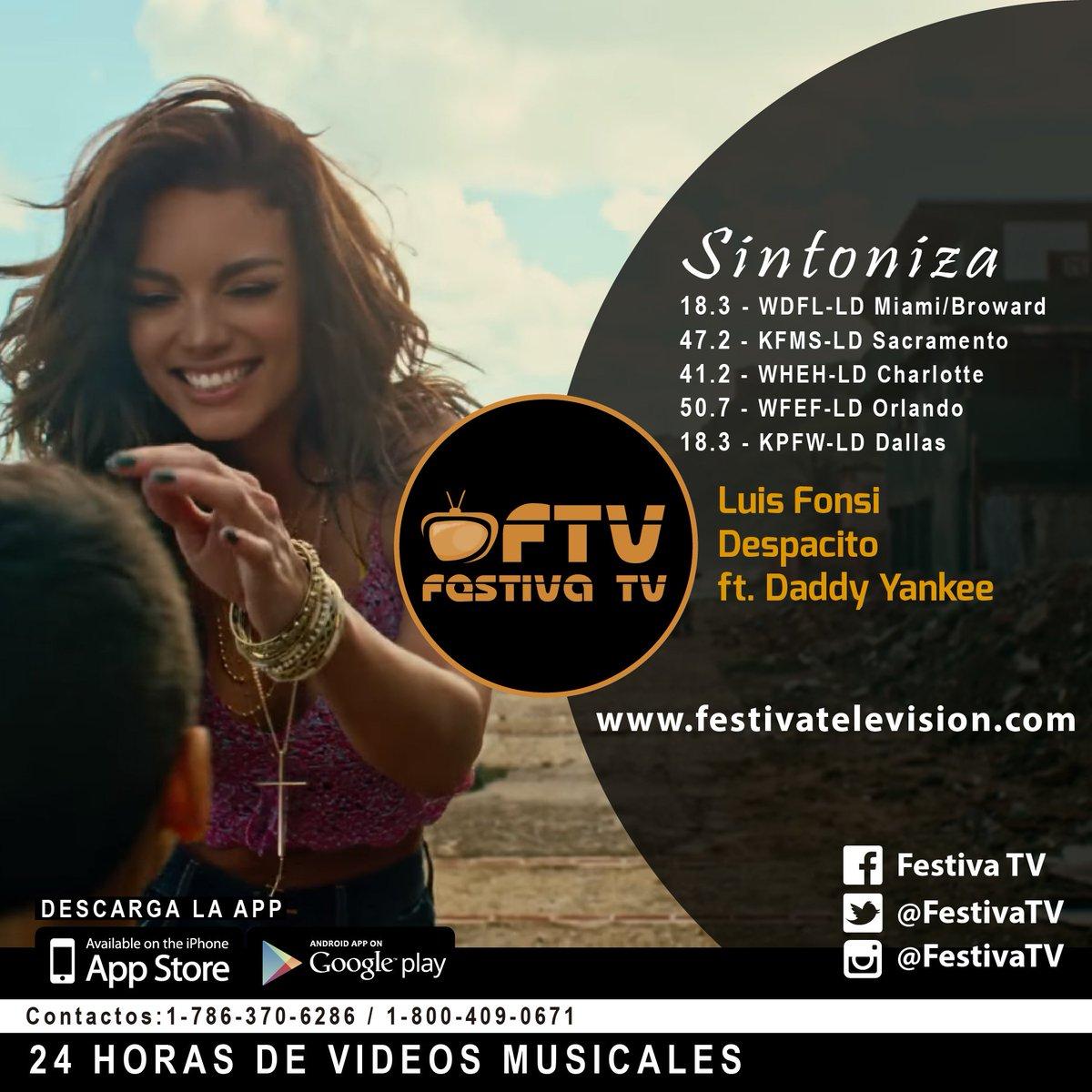 Luis Fonsi - Despacito ft. Daddy Yankee este y mas videos https://t.co...