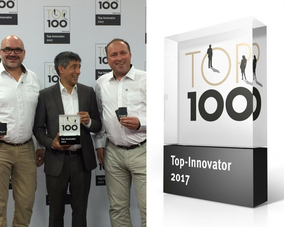 Our parent company, Flux Design Products GmbH, was named one of the top 100 innovators in Germany! 😎  #iclip #innovation #proud https://t.co/OOju9gMzJB