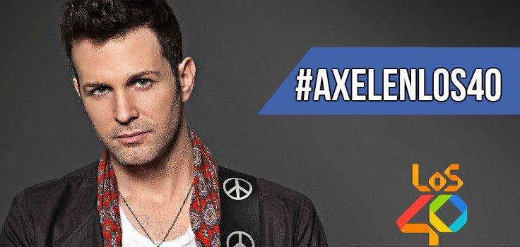 #AxelEnLOS40 MAÑANA➡ @AxelOficial en vivo en @SomosGuatsap! No te pier...