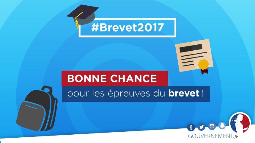 #Brevet2017 Bon courage à toutes celles et tous ceux qui débutent leur...