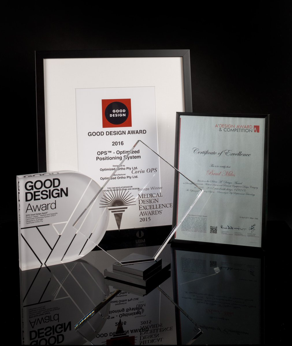 Great to get more design awards for #OPS everone needs a #uniquehip  over 4,000 cases performed  http://www. coringroup.com  &nbsp;   for more info <br>http://pic.twitter.com/8MAyPRCrsh