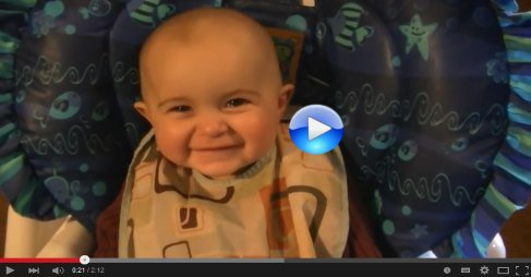 Emotional baby! Too cute! https://t.co/T4CU2dvkV8 Mommy sing and the cute baby cries until mommy stops  #video 4