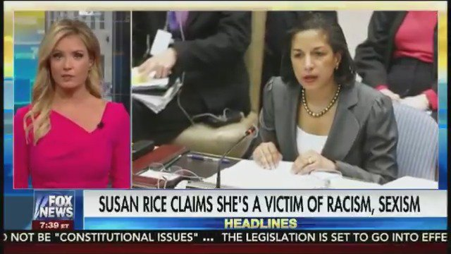 Susan Rice gives her take on why she believes she's been targeted by the Trump administration