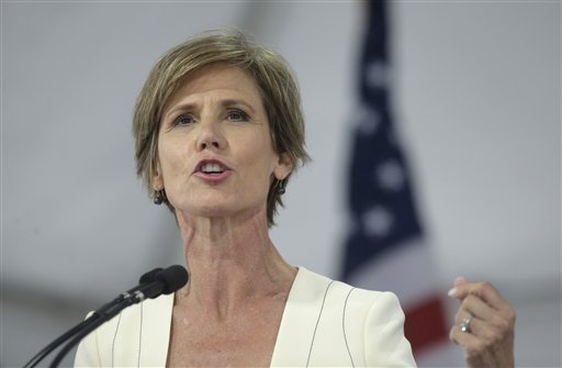 Sally Yates: I refused to defend Trump travel ban because it's based on religion, not national security https://t.co/cg2vEuOfpi