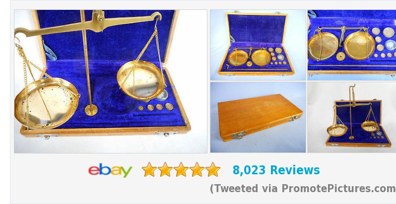 Portable Vintage #Apothecary Hanging #Brass #Balance Beam #Scales with...