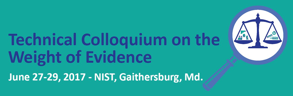 Day 2 of Technical Colloquium on the Weight of Evidence  webcast #NISTWOE will begin at 8:30am EDT https://t.co/Cpg9ClWfKQ