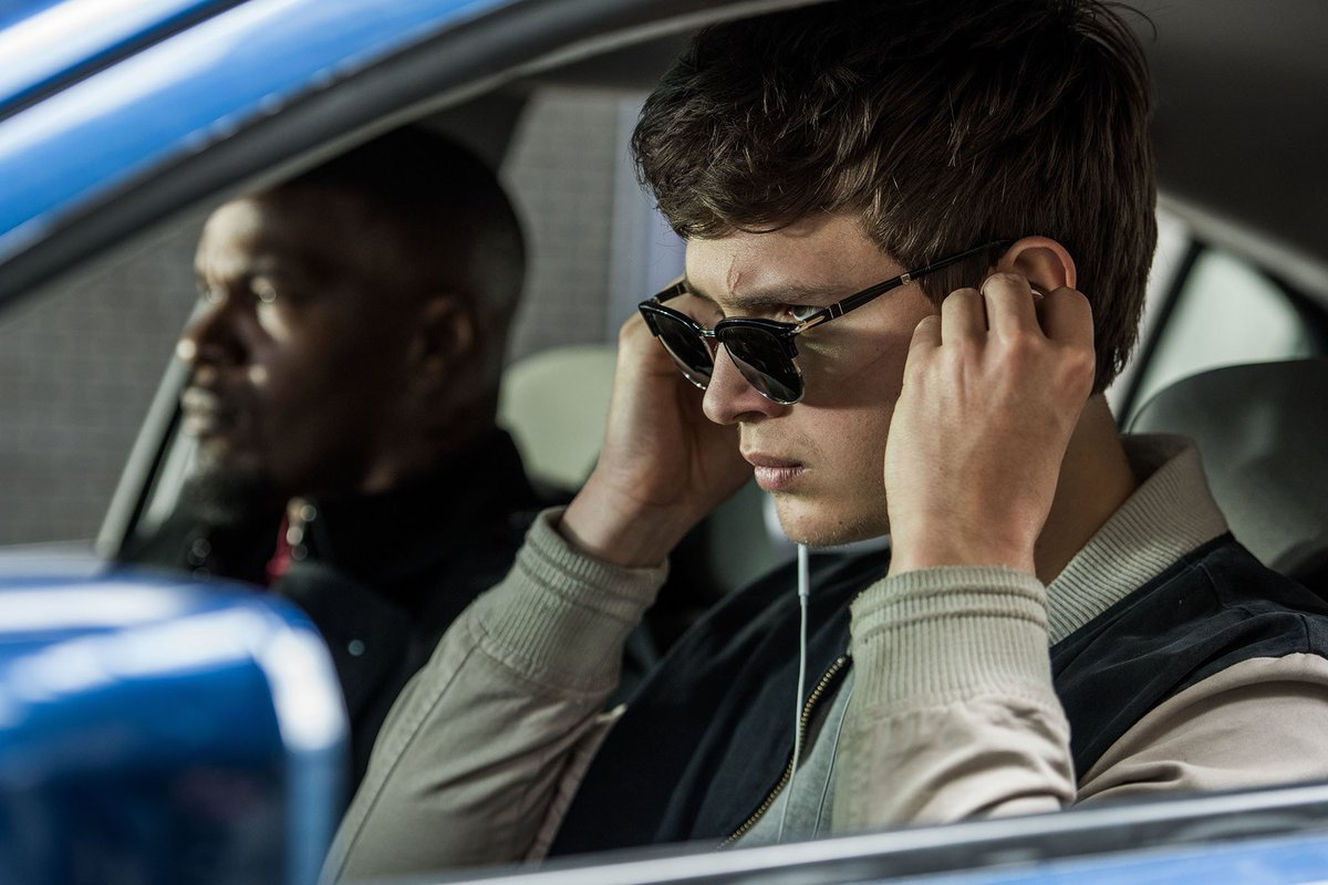 We chatted with @AnselElgort and @edgarwright about the summer's fastest car-chase movie, Baby Driver: https://t.co/4IefB308oc