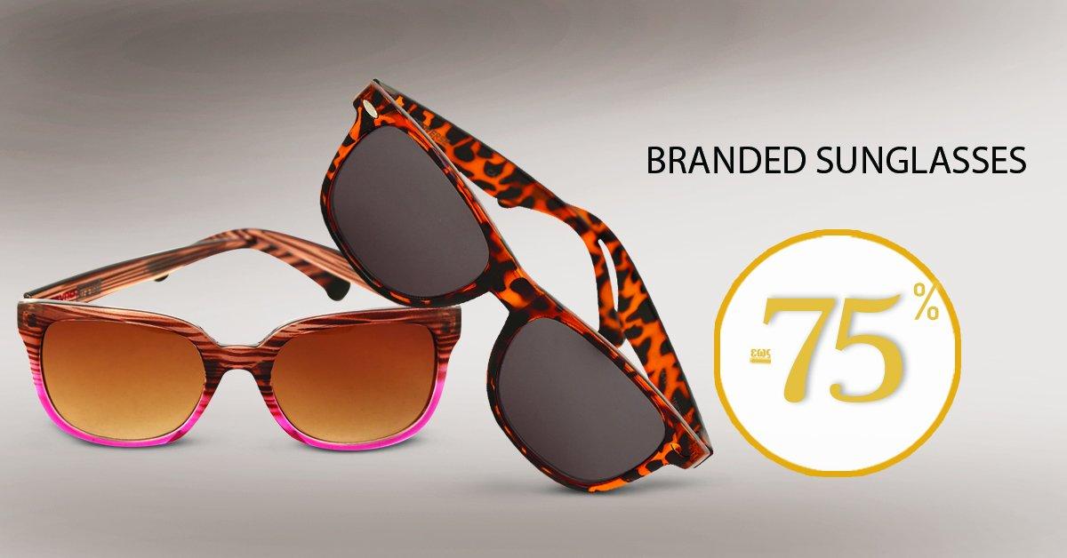 Γυαλιά ηλίου από την συλλογή Branded Sunglasses στα πιο hot σχέδια της σεζόν! SHOP NOW --> https://t.co/yO3t5wlJj5 https://t.co/oferIPu1zY
