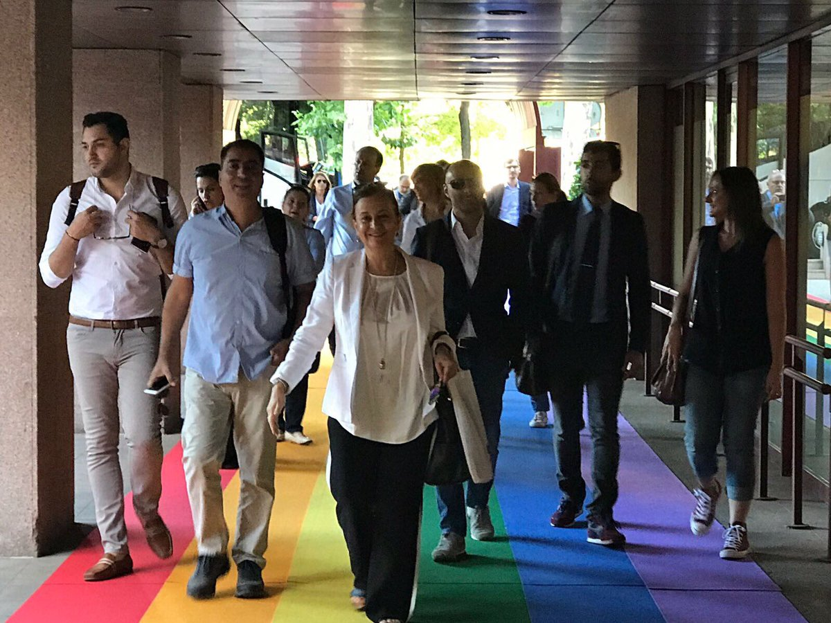 #Cyprus delegation arriving at @PE_Espana for the media seminar 'Security & Defence in the Southern Europe' #SafeEuropa
