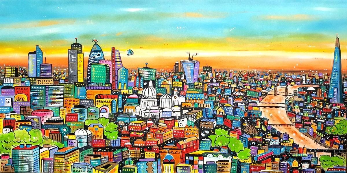 Discover a parallel world.. HERE:  https://www. artfinder.com/maria-luisa-az zini &nbsp; …  #art #painting #London #urban #design #wall #artwork #contemporary #original #love<br>http://pic.twitter.com/b6LYAzjNtQ