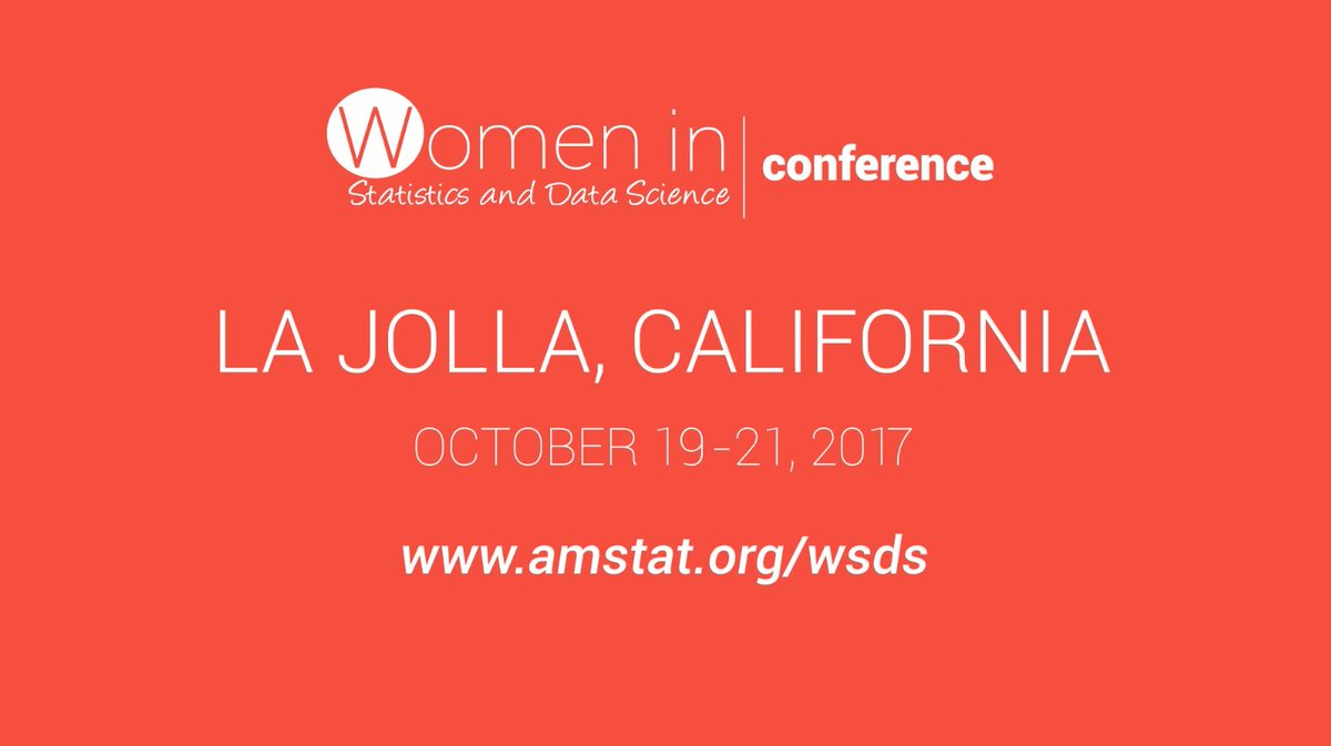 Student and early career travel awards available for the Women in #Statistics and #DataScience Conference #WSDS2017  https:// ww2.amstat.org/meetings/wsds/ 2017/awards.cfm &nbsp; … <br>http://pic.twitter.com/X8xYsUvtoQ