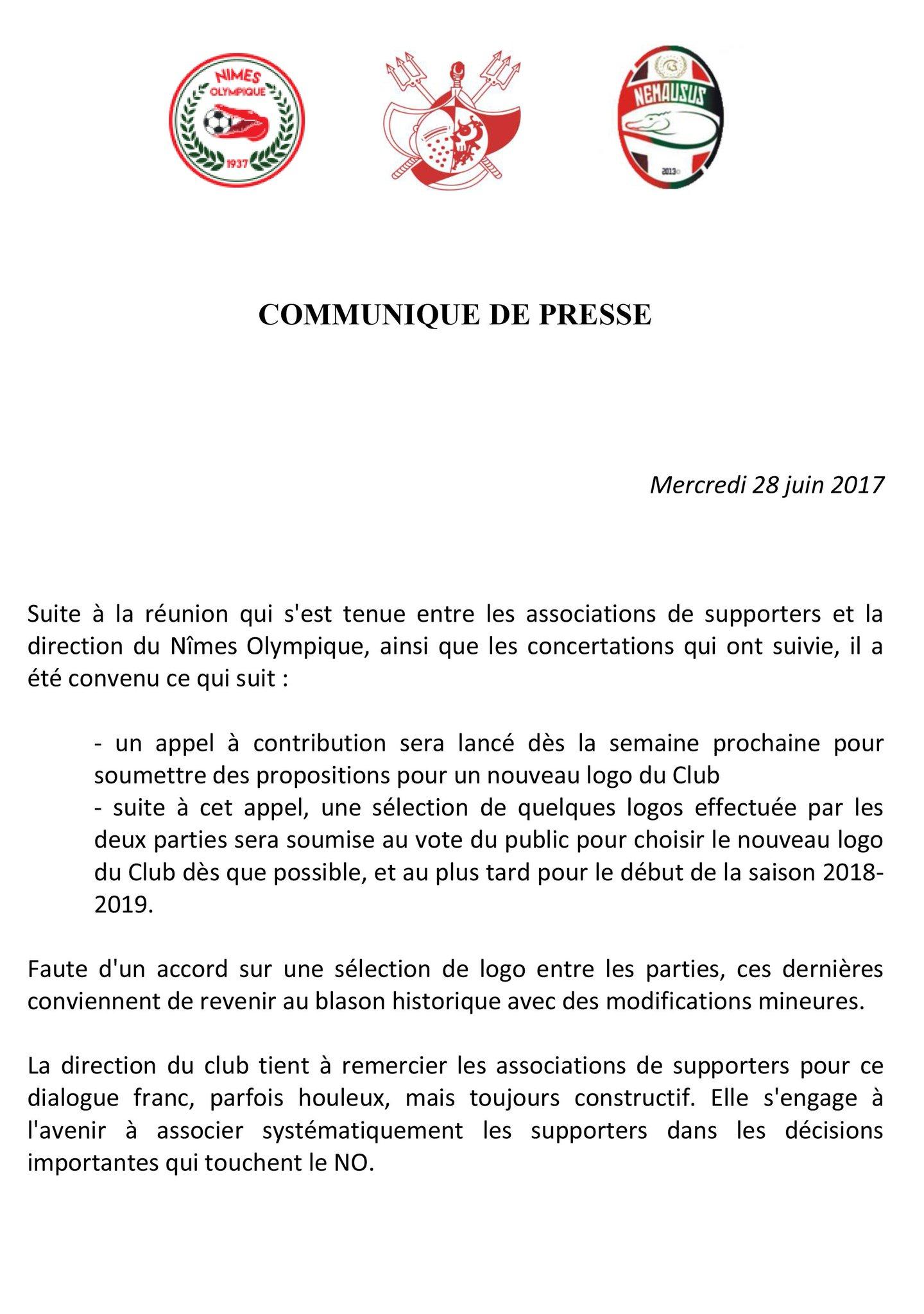 Nouveau logo du Nîmes Olympique : la polémique stérile !  DDaNCOxWAAYgFgF