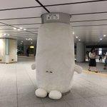 なにこれ東京駅の地下鉄がなんかよくわからないものに支えられている