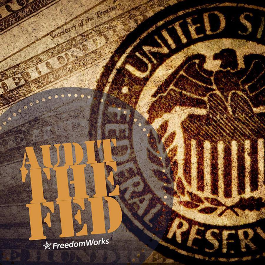 Audit the Federal Reserve #USAin4words https://t.co/ZrsKh600t4