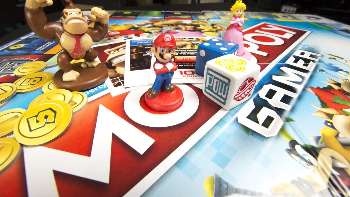 Mario-themed Monopoly Gamer has power-ups and boss battles. https://t....