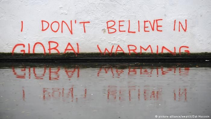 Artists, musicians and activists get creative to raise awareness of #climatechange https://t.co/E00J964oN3 #Banksy