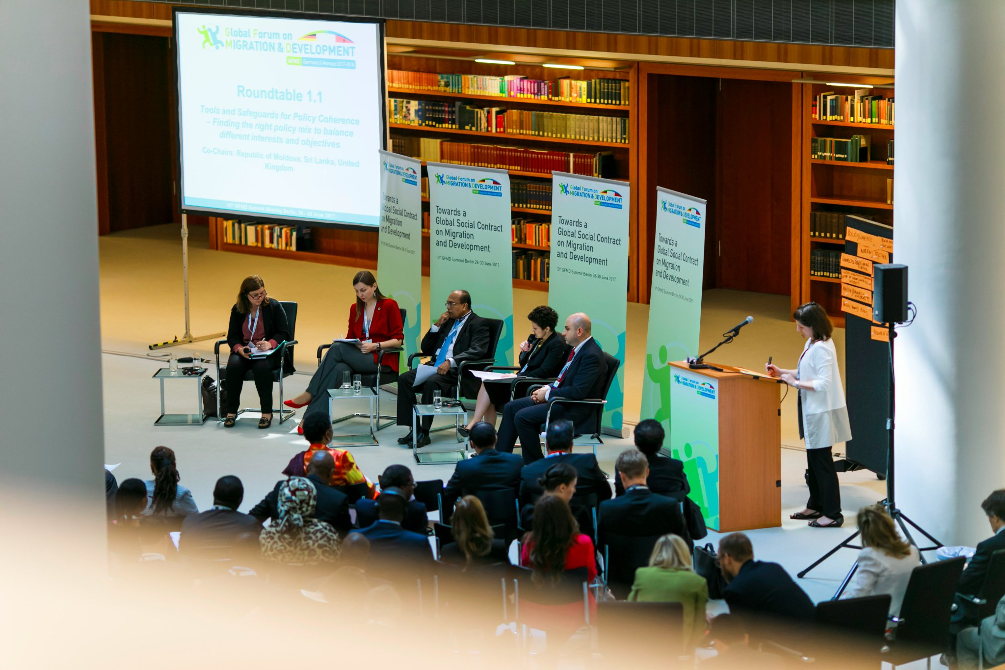 RT 1.1: Data collection improvement is needed to provide evidence-based and coherent policies on #migration and #development. #GFMD10 https://t.co/7YMZstd3jr