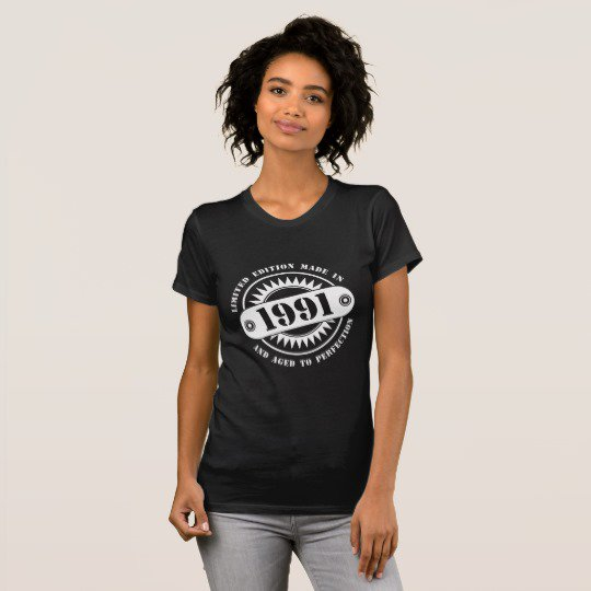 LIMITED EDITION MADE IN 1991 T-Shirt | Order @  https:// goo.gl/YrNKqS  &nbsp;   &lt;|&gt; #birthday #limited #classic #bday #age #year #tshirts<br>http://pic.twitter.com/5l0FI6QpI9