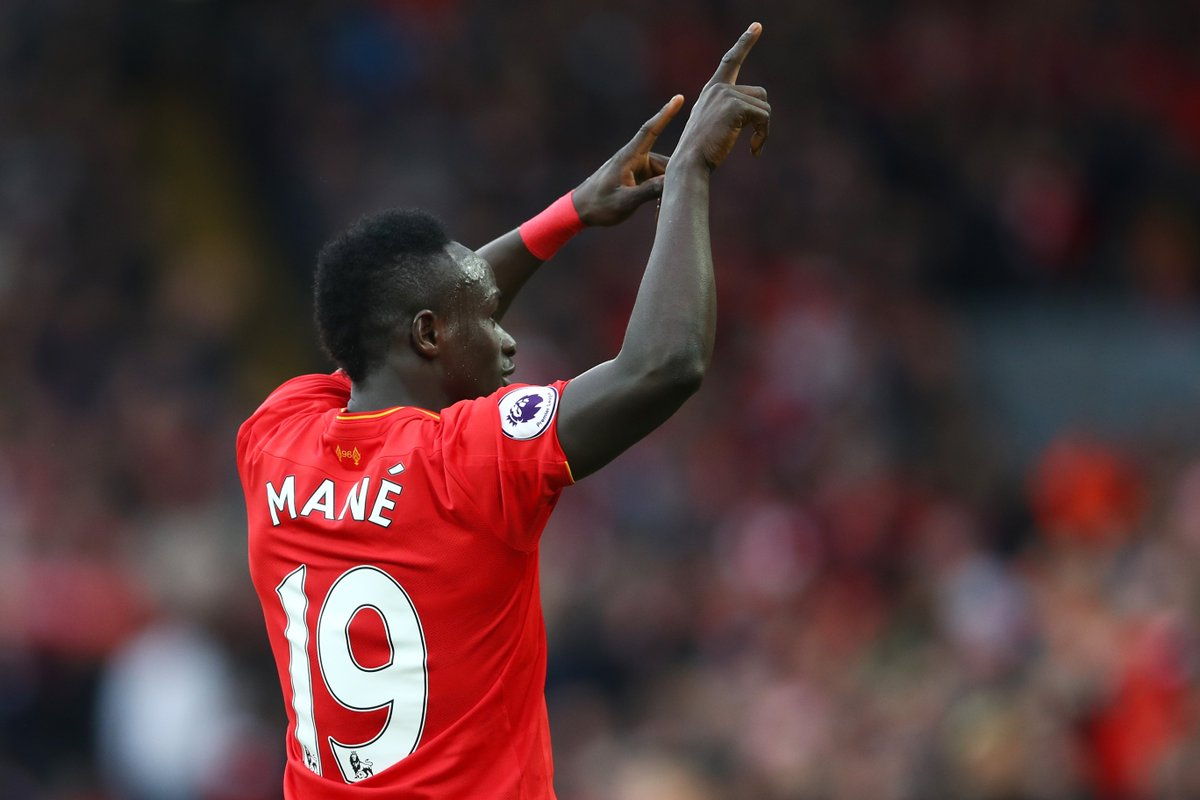 One year of Sadio. Nine teams he's scored against for #LFC.  ⏱ Beat th...