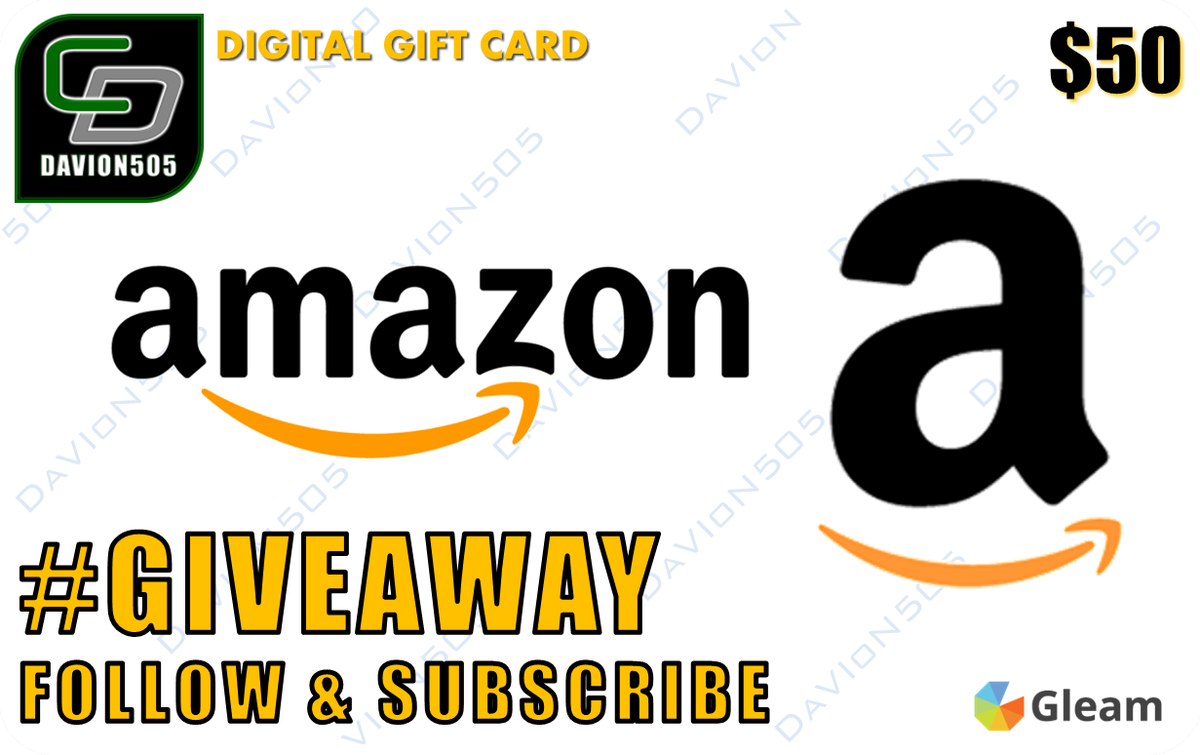 Enter here for my sub goal #giveaway for a chance to #win a #Amazon Gift Card #Gaming #YouTube #YoutubeGaming #Gleam  https:// gleam.io/S89Bu/youtube- subscriber-2017-stretch-goal-giveaway &nbsp; … <br>http://pic.twitter.com/wadXRyfrHt