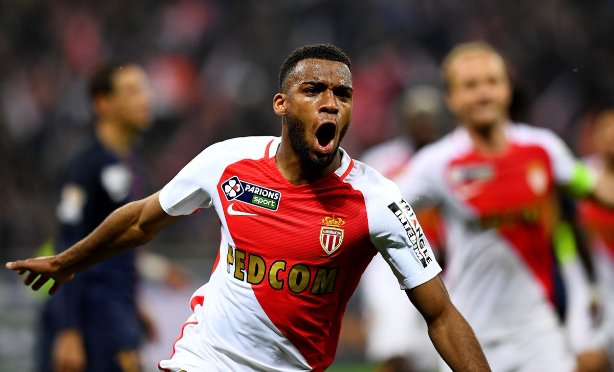 Monaco's Thomas Lemar has been the subject of a second bid from Arsena...
