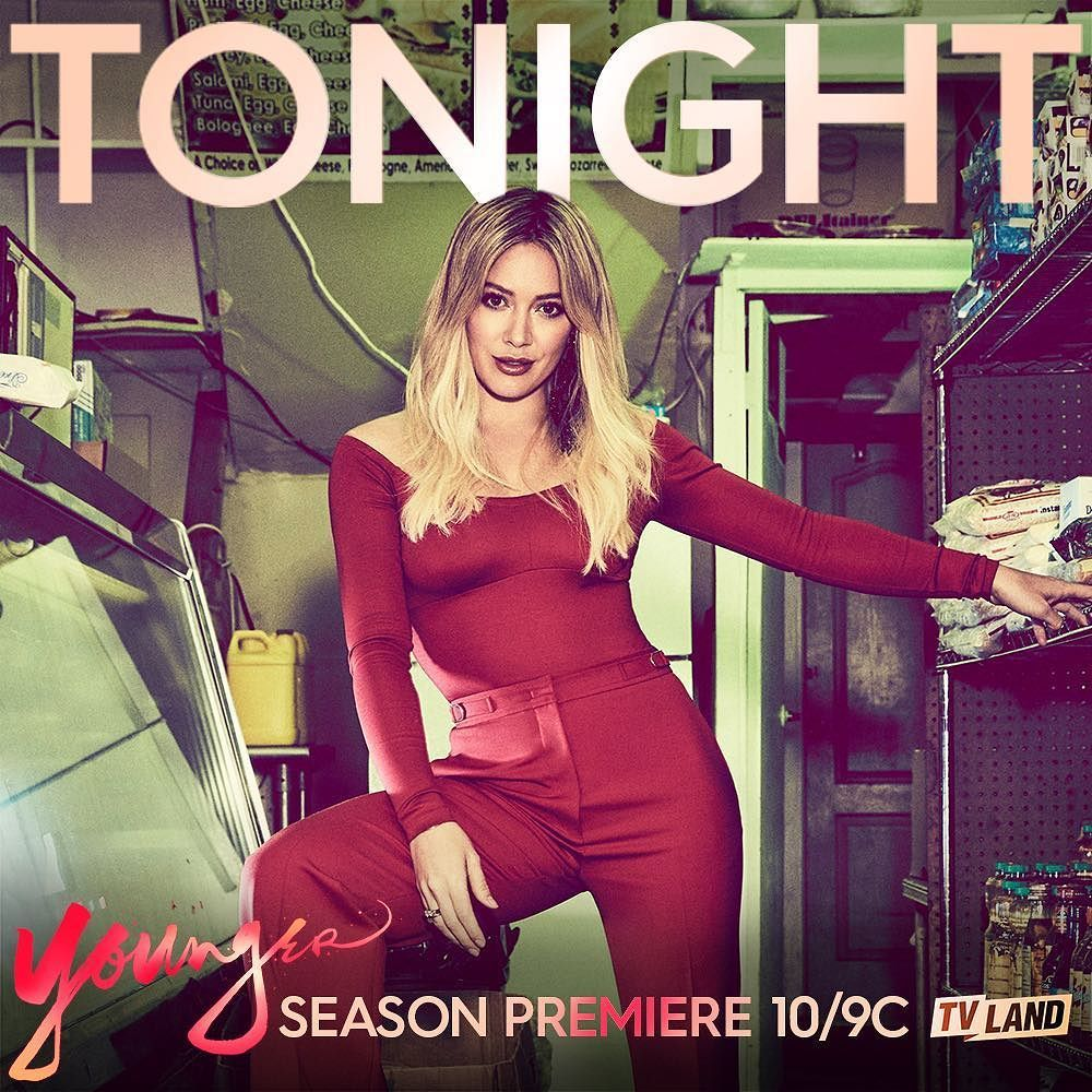It's all going down tonight. @YoungerTV premieres at 10pm on @tvland!...