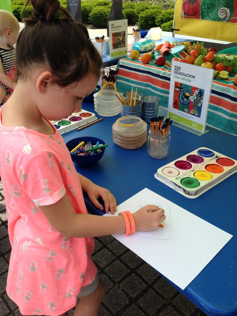 Co color wheel art - Milwaukee Art Museum On Twitter Check Out Kohl S Color Wheels In The Kohlscaptivationstation At Summerfest Free Art Activities 12 6pm Daily