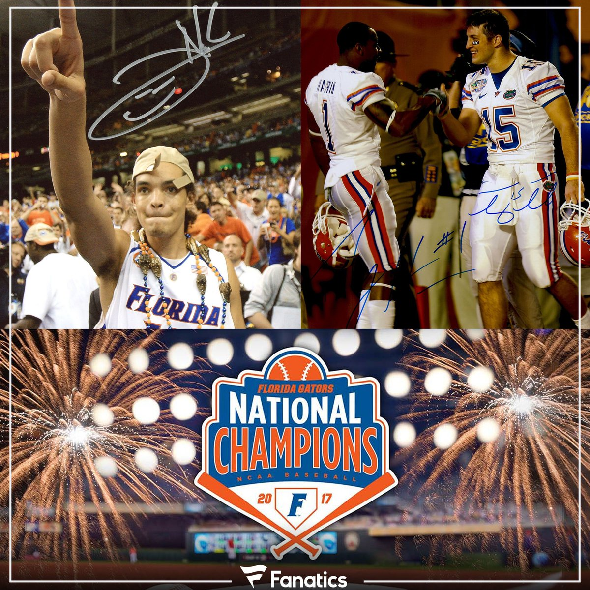 The @FloridaGators 🐊 are the ONLY @SEC school to win a #NationalChampi...