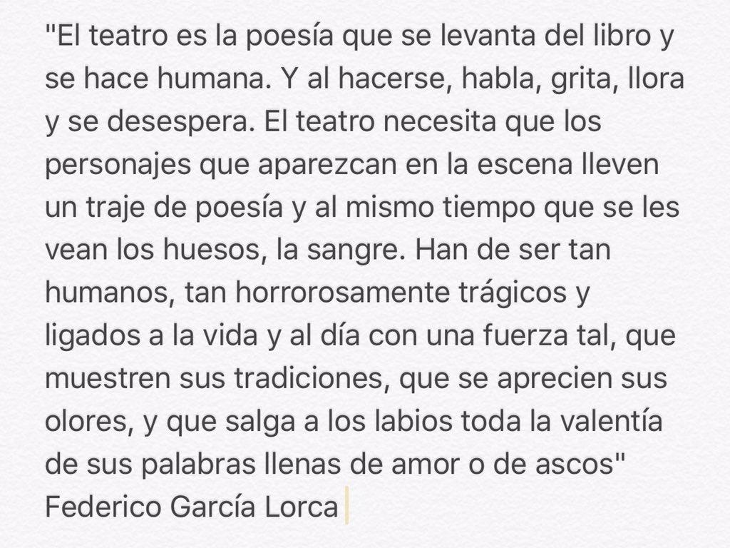 Feliz Día Nacional Del Teatro. https://t.co/wXIQFc0Ip0